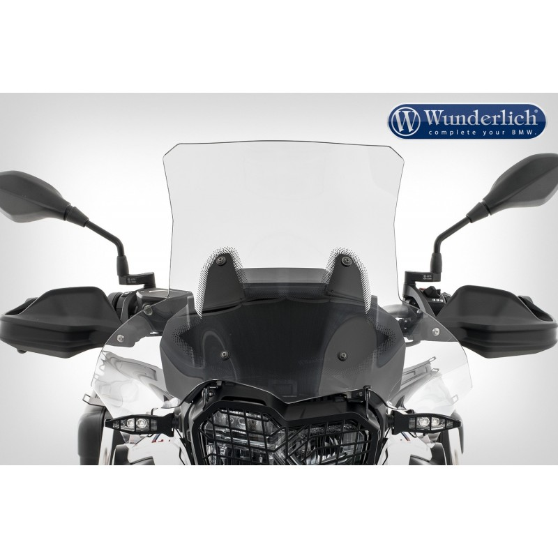 WUNDERLICH BMW Wunderlich Bulle de carénage »EXTREME« - Fixation court (115mm) - transparent 20230-404 Boutique en Ligne
