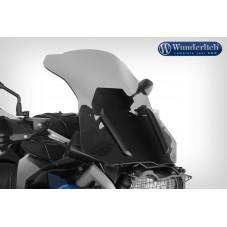 WUNDERLICH BMW Bulle Wunderlich »MARATHON« avec renfort de bulle - gauche et droite - gris fumé 42710-502 R 1200 GS LC (2013 ...