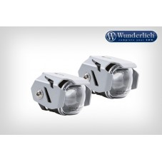 WUNDERLICH BMW Phare additionnel LED Micro Flooter - montage sur pare-cylindre - argent 28380-201 Boutique en Ligne