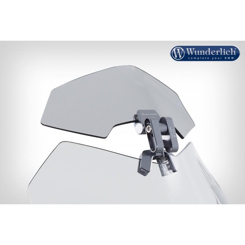 WUNDERLICH BMW Wunderlich Déflecteur »VARIO-ERGO 3D« - gris fumé 42350-002 Boutique en Ligne