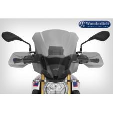 WUNDERLICH BMW Wunderlich Bulle de carénage »R-MARATHON« - haute - gris fumé 30450-236 Boutique en Ligne