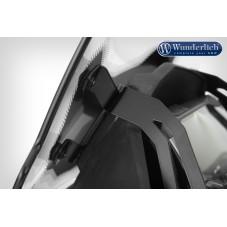 WUNDERLICH BMW Wunderlich Bulle de carénage »MARATHON« - Pour les modèles avec prise de carte originale - gris fumé 44921-106...