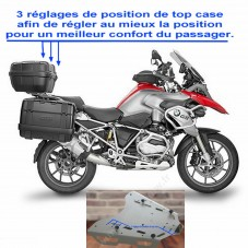 WUNDERLICH BMW Platine Alu Réglable pour Top-Case GIVI - 1200 GS LC / 1250 GS - argent 16500-101 Boutique en Ligne