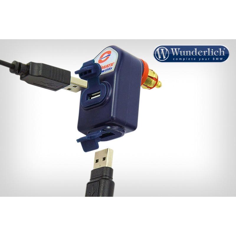 WUNDERLICH BMW Double fiche USB Optimate 45010-802 Boutique en Ligne