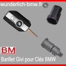 WUNDERLICH BMW Barillet Serrure Pour Top-case Givi code à la Clés BMW BM500-100 Boutique en Ligne