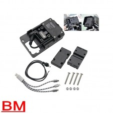 WUNDERLICH BMW SUPPORT DE TELEPHONE PORTABLE AVEC CHARGEUR USB POUR BMW BM500-000 Boutique en Ligne
