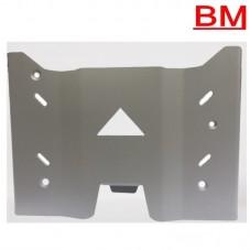 WUNDERLICH BMW Protection pour la béquille centrale - argent BM500-001 Boutique en Ligne