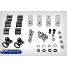Wunderlich BMW R1250GS Kit de montage phare supplémentaire orig pour arceau de protection - argent 28363-001