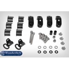 Wunderlich BMW R1250GS Kit de montage phare supplémentaire orig pour arceau de protection - noir 28363-002