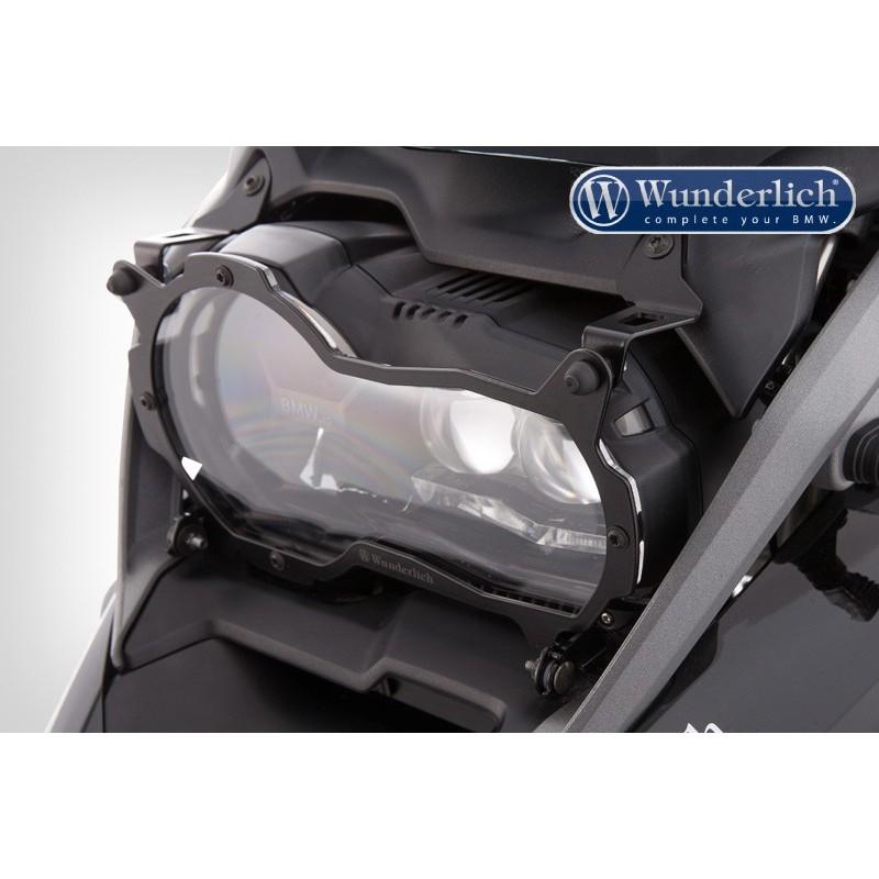 WUNDERLICH BMW Wunderlich Protection de phares rabattable »CLEAR« - noir 26660-300 Boutique en Ligne