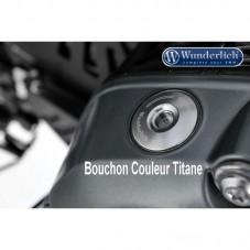 Wunderlich BMW R1250GS Bouchon d'huile de sécurité - titane 27440-003