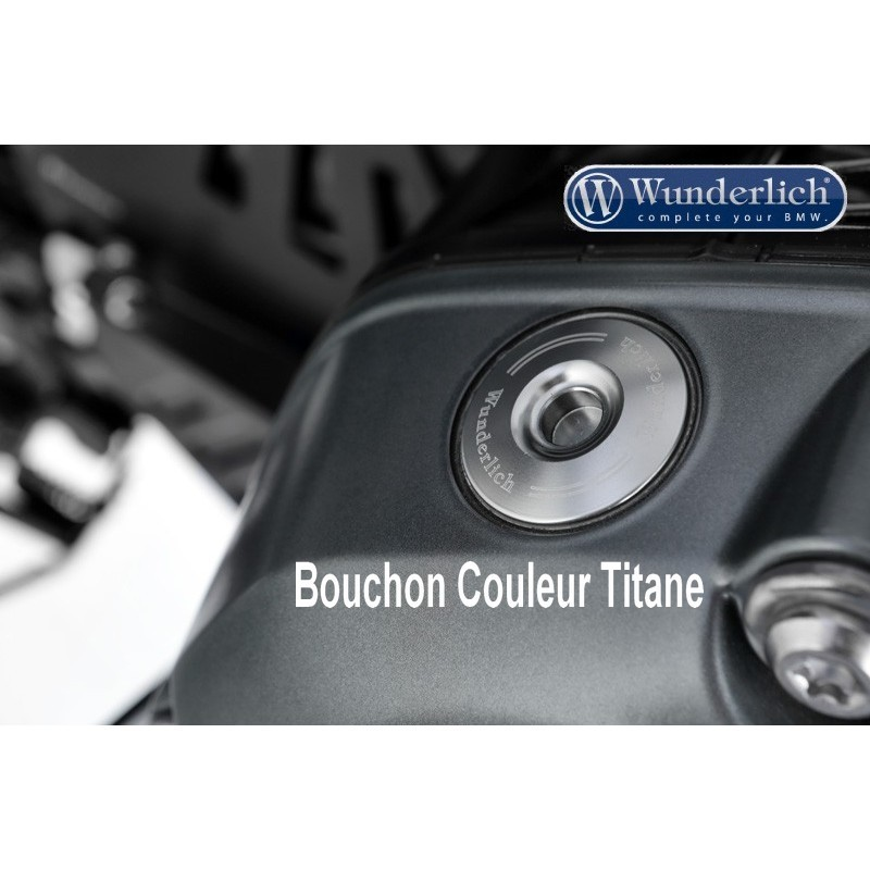 WUNDERLICH BMW Bouchon d'huile de sécurité - titane 27440-003 Boutique en Ligne