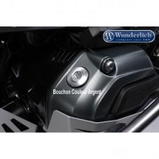 Wunderlich BMW R1250GS Bouchon d'huile de sécurité - argent 27440-001