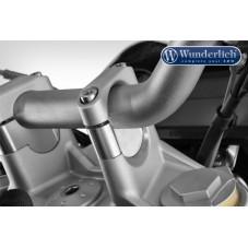 Wunderlich BMW R1250GS Rehausseur de guidon pour modèle sans navigateur BMW - 25mm - argent 31000-111