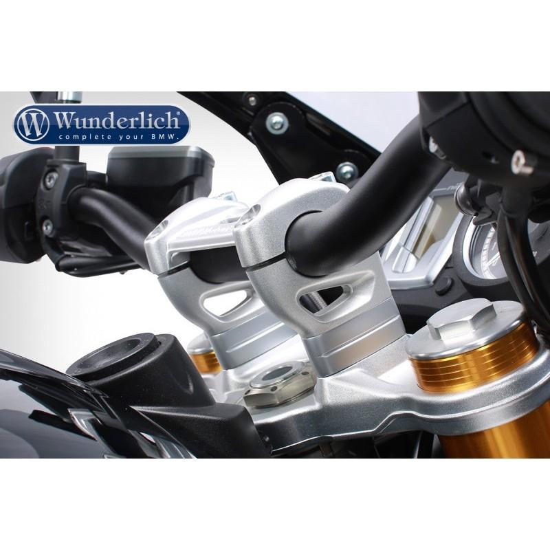 WUNDERLICH BMW Rehausse de guidon Wunderlich 31011-001 Boutique en Ligne