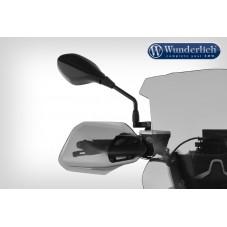 Wunderlich BMW R1250GS Protège-mains «Clear Protect» - gris fumé 27520-302
