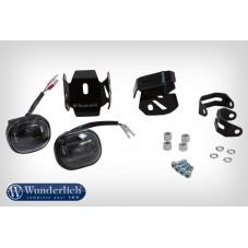 Wunderlich BMW R1250GS Kit transformation LED pour phare supplémentaire - noir 28365-002