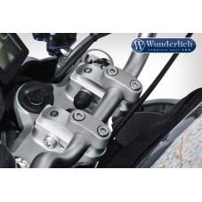 Wunderlich BMW R1250GS Rehaussement de guidon réglable Vario-Riser - 29mm - argent 31020-001