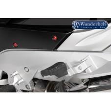 Wunderlich BMW R1250GS Mécanisme de déplacement du Repose-pied (passager) - argent 31420-001