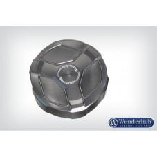 Wunderlich bmw Couvercle en aluminium de réservoir de liquide de frein arrière - titane 36030-003