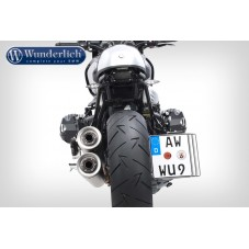 Wunderlich BMW R1250GS Support de plaque d´immatriculation - noir 38981-002