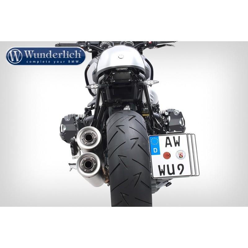 WUNDERLICH BMW Support de plaque d´immatriculation R nineT 38981-002 Boutique en Ligne