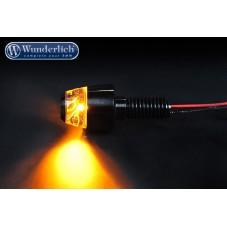 Wunderlich bmw Clignotants pour support plaque d'immatriculation SWING - noir 36342-602