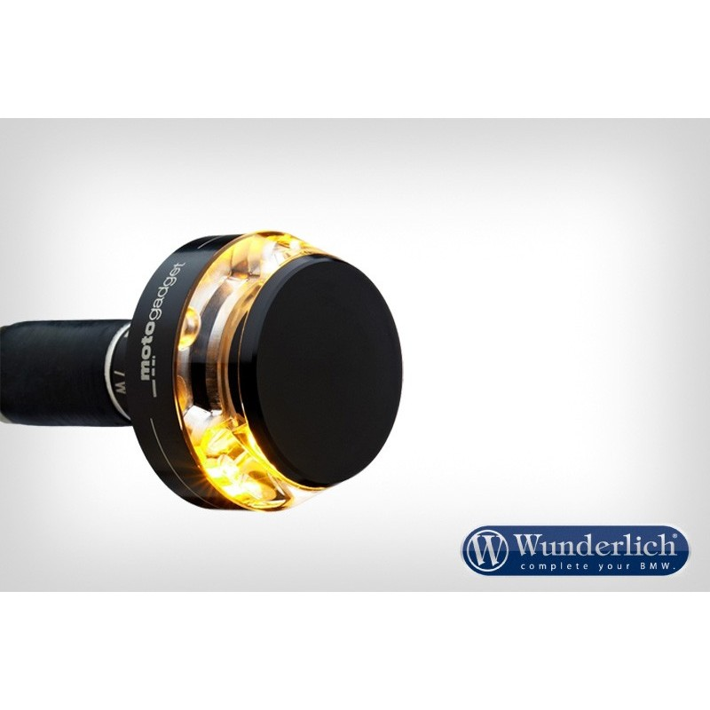 """WUNDERLICH BMW Clignotant Motogadget """"m-Blaze Disc"""" - droit - noir 36342-302 Boutique en Ligne"""