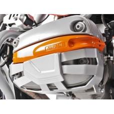 Wunderlich BMW R1250GS Protections de couvercle de culasse et de cylindre - argent 35600-001