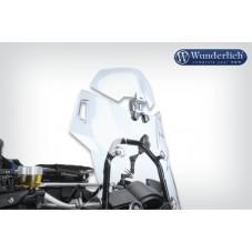 Wunderlich BMW R1250GS Bulle Déflecteur Vario-ERGO 3D - transparent 42350-001