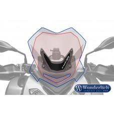 WUNDERLICH BMW Wunderlich Bulle de carénage »SPORT« - transparent 35752-105 Boutique en Ligne