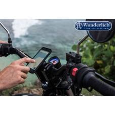 WUNDERLICH BMW Support moto SP-Connect de smartphone, Pack - iPhone 6 / 6S / 7+ / 8+ - noir 45150-301 Boutique en Ligne