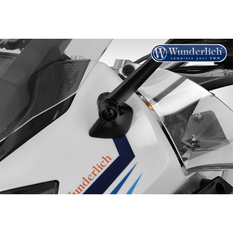 WUNDERLICH BMW Wunderlich Déflecteurs »MARATHON-PLUS« - transparent 20521-005 Boutique en Ligne
