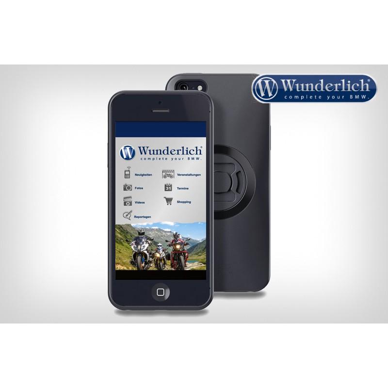 WUNDERLICH BMW Support moto SP-Connect de smartphone, Pack 45150-302 Boutique en Ligne