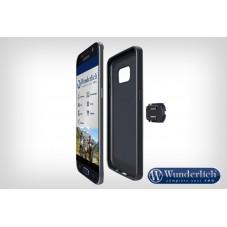Wunderlich bmw Support moto Wunderlich de smartphone, Samsung S8/S9 noir 45150-305