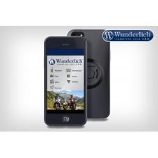 wunderlich-Support moto SP-Connect de smartphone, Pack - iPhone 6 / 6S / 7 Plus - noir-45150-300