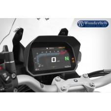 Wunderlich bmw Visière pare-soleil Wunderlich pour cockpit TFT 6,5 pouces - Connectivity Display - noir 21083-002