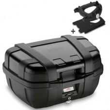Wunderlich bmw TOP CASE R 1200 GS LC GIVI MONOKEY TREKKER 52L + Support TRK52N N + SR5108