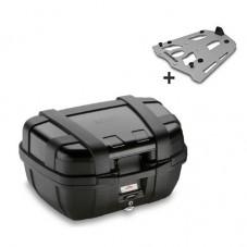 Wunderlich bmw TOP CASE R 1200 GS LC GIVI MONOKEY TREKKER 52L + Support Aluminium TRK52N N + SRA5108