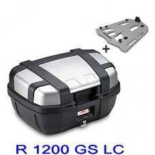 Wunderlich bmw TOP CASE R 1200 GS LC GIVI MONOKEY TREKKER 52L + Support Aluminium TRK52N A + SRA5108