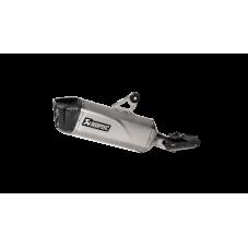 WUNDERLICH BMW AKRAPOVIC SLIP-ON LINE (TITANIUM) R1250GS/ADV 1811-0000 Boutique en Ligne