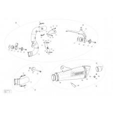WUNDERLICH BMW AKRAPOVIC RACCORD ECHAPPEMENT TITANIUM R nineT (2014 - ) 1812-0292 Boutique en Ligne