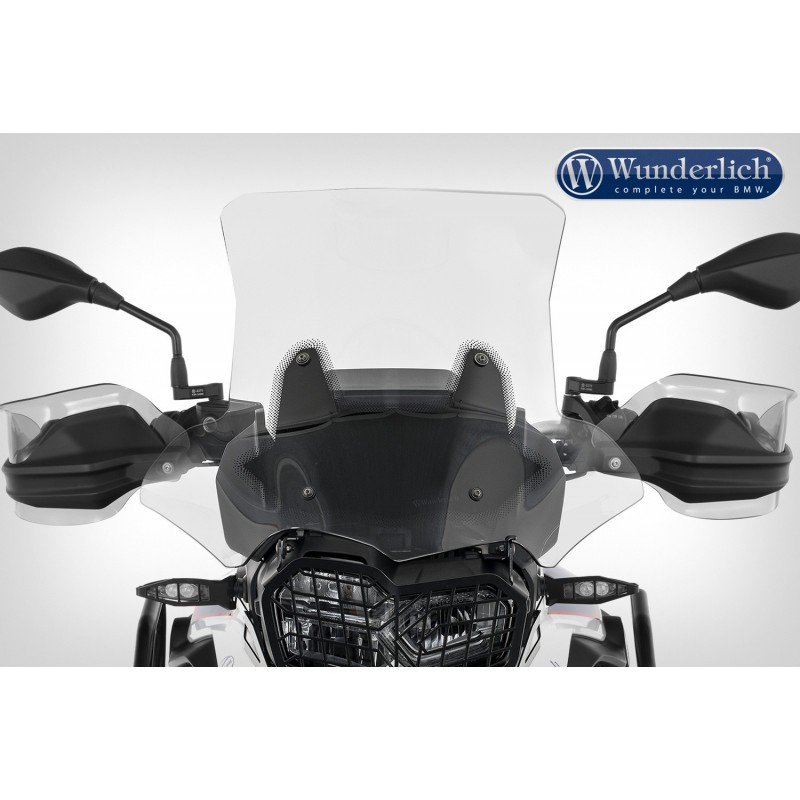 WUNDERLICH BMW Bulle de carénage Wunderlich »MARATHON« - Fixation court (115mm) - transparent 20230-204 Boutique en Ligne