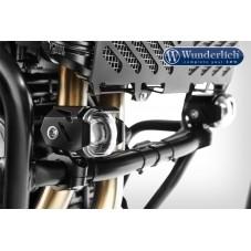 WUNDERLICH BMW Phare additionnel LED Micro Flooter - montage sur pare-cylindre - noir 28380-202 Boutique en Ligne