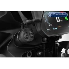 WUNDERLICH BMW Wunderlich Double-prise USB - noir 45011-000 Boutique en Ligne